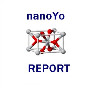 Report on particle size for nanoYo
